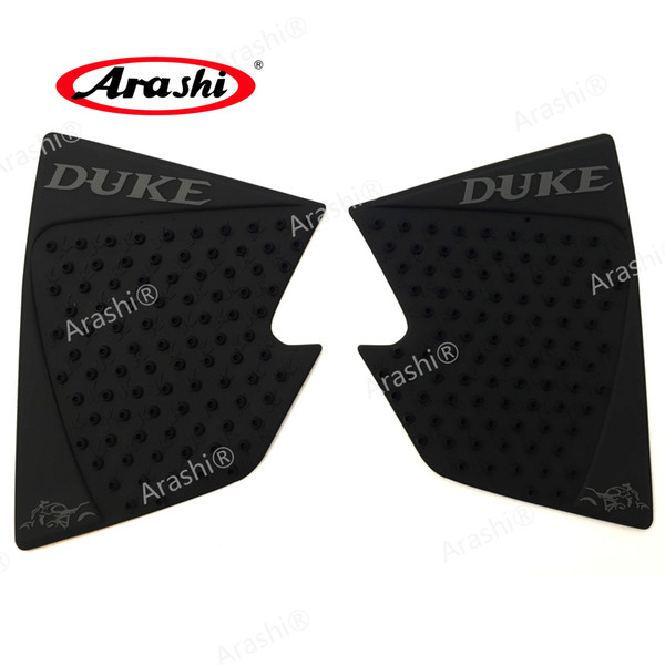 Arashi For KTM 390 200 2012-2016 Motorcycle Tank Pad Protector Sticker Decal Gas Knee Grip Tank Traction Pad Side 2012 2013 2014 2015 2016