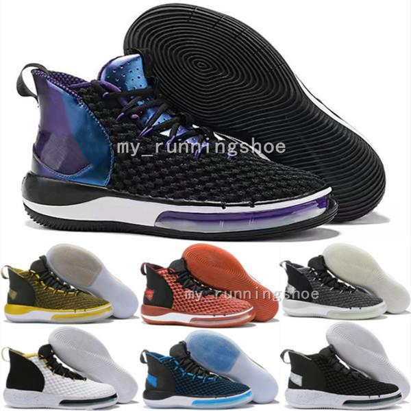 Acheter 2019 Nouveaux Hommes Alphadunk HoverBoard Chaussures De Basketball Pure Magic Airknit Coupe Du Monde De Basket Ball FIBA Vince Carter Dunk