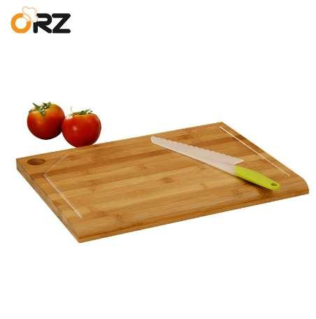 ORZ Bamboo Chopping Board Kitchen Chopping Block Cake Sushi Plate Serving Tray Antibacterial Cutting Board Kitchen Cooking Tools