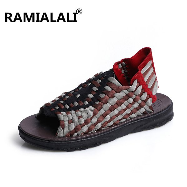 Ramialali 2018 New Arrived Summer Sandals Men Shoes Quality Comfortable Men Sandals Fashion Design Casual Shoes