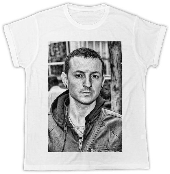Честер Беннингтон лицо прохладный LINKIN Park дань мужская мужская футболка белый черный серый красный брюки футболка