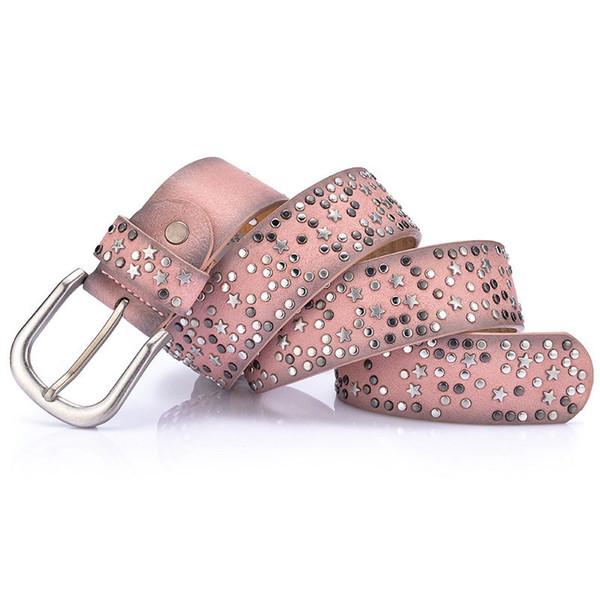 Ladies Fashion Jeans Belt Luxury Casual Belts Designer Waistband Female Waist Straps Hot Womens Leather Belt Girls Pink Blue Dress Waistband