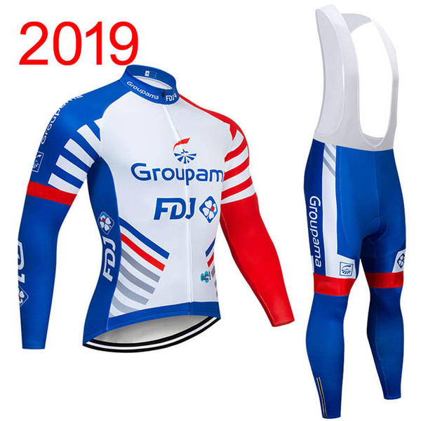 Men 2019 Cycling Jersey Bib Shorts Outfits Shirts Pants Kits Bicycle Cycling Set