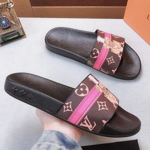 Homem / Mulher Chinelos Sandálias Sapatos de Grife Slides Designer Calçados Animais Design Huaraches Flip Flops Com Caixa Tamanho: 35-45 por toy99 LT615 5-13