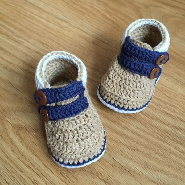 QYFLYXUE Free shipping,CROCHET Baby Sandals ,Unique button shoes Size8cm,9cm,10cm,11cm