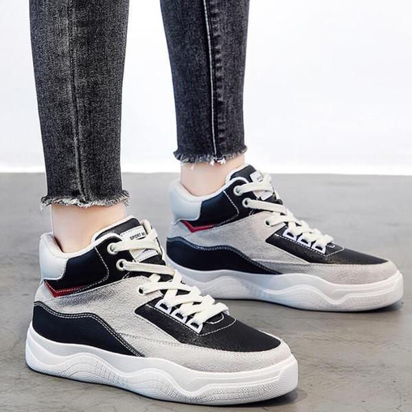 Sıcak Kadınlar Ayakkabı Koşu Bej Artı kadife All-maç Moda Kadın Trainer Nefes Yeşil Siyah Spor Sneaker Ücretsiz Kargo