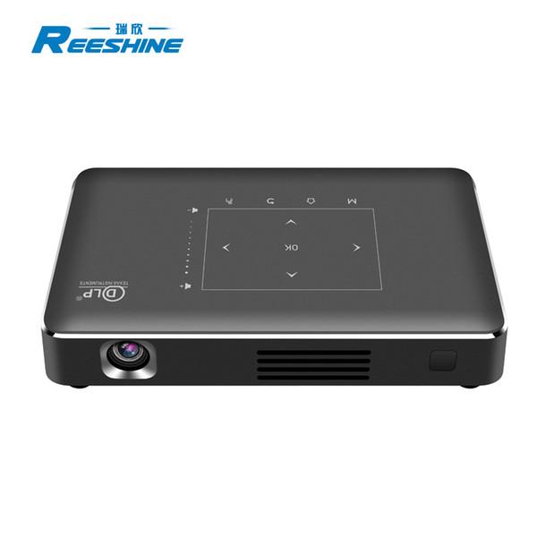 Alta qualità s912 chipset P10-II proiettore a led ultra short throw smart outdoor mobile home mini proiettore 4k