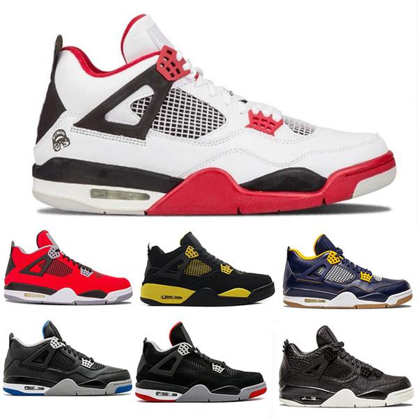 Raptors Tattoo 4 Iv 4s Мужчины Баскетбольная обувь Скотт 4s Кактус Джек Pure Money Pizzeria Синий Черный Дизайнерские Мужские Кроссовки Кроссовки Спортивная обувь