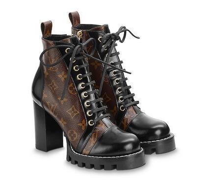 Star Trail Ботильоны для женщин Ботинки для верховой езды Rain BOOTS Ботинки SNEAKERS Высокие каблуки Lolita PUMPS Классическая обувь