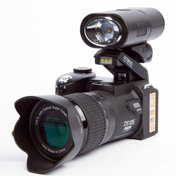Polo Sharpshots / PROTAX D7200 Digitale Videokamera DV 33mp Auflösung optischer 24fach-Zoom Autofokus Professionelle Camcord-Kamera