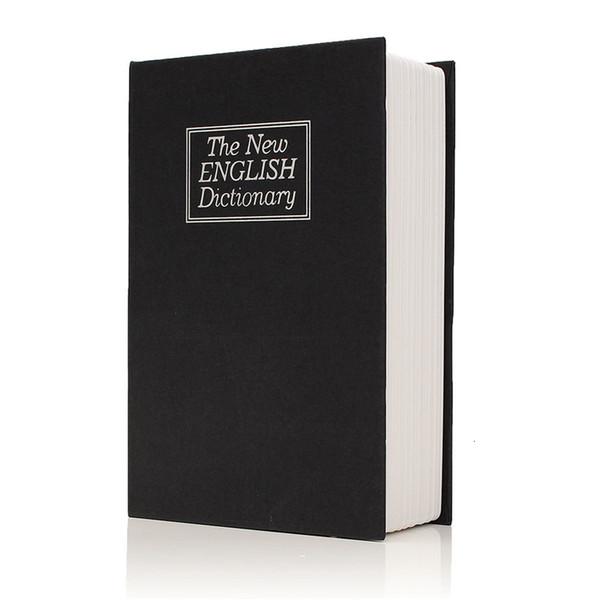 Metal + Kağıt Tabak sözlük Kitap Gizli Güvenlik Güvenli Tuş Kilidi Nakit Para Mücevher Locker Dayanıklı Kalite SH190929