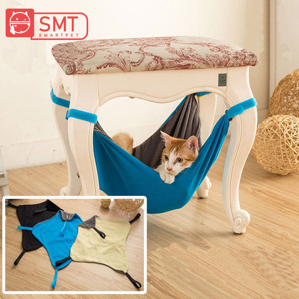SMARTPET Pet Cat Crib Hammock Bed Multi-purpose Kitten Ventilate Hanging Bed Kitty Rat Small Pets Swing For Small Pet Supplies