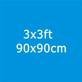 3*3ft / 90*90cm
