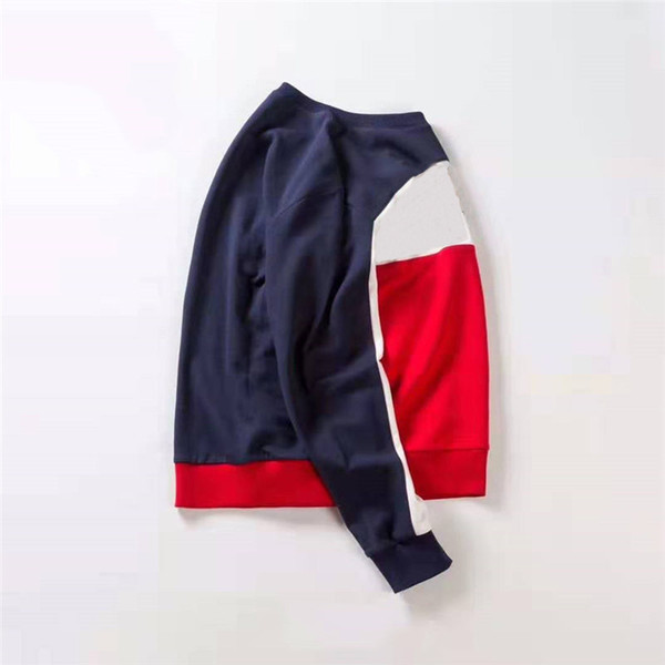 Mens Designer Hoodie Marca de Moda Camisola Tops Para Homens Mulheres Carta Listrada Impressão Camisolas Com Capuz de Alta Qualidade Mangas Compridas Camisola