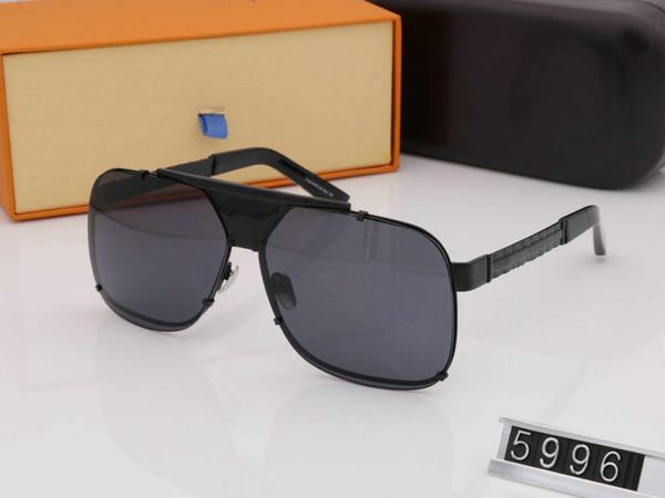Designer de óculos de sol para homens mulheres óculos de sol para as mulheres óculos de sol homens marca designer de luxo óculos de luxo óculos de sol mens óculos 5996