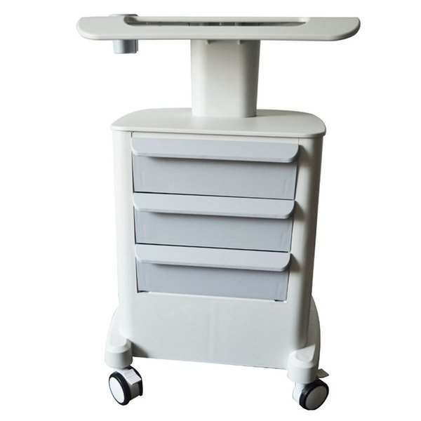 Trolley Stand Holder Mobile Medical Cart With Draws Assembled For Face Lifting Anti Aging Wrinkle Removal HIFU Beauty Machine Salon Spa