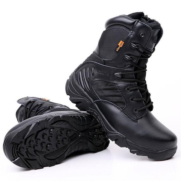 Männer Delta Military Tactical Boots Hohe Qualität Wasserdichte Rutschfeste Outdoor Reise Schuhe Schwarz Turnschuhe für Männer Wanderschuhe