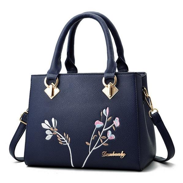 Dark Blue Giant East Girl Bag