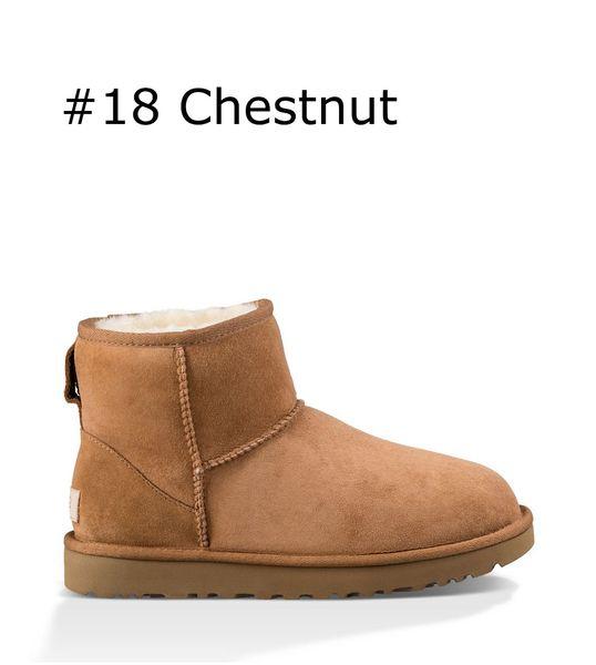 18 Chestnut brown classic mini