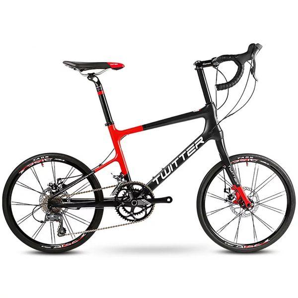 18b94ff8fe4 Super Light Carbon sSlim Bicycle Flat Handlebars Change To 16 - Speed  Travel Road Cycling Ladies Bike