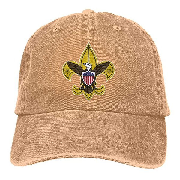 2019 New Cheap Baseball Caps Boy Scouts Retro Mens Cotton Adjustable Washed Twill Baseball Cap Hat