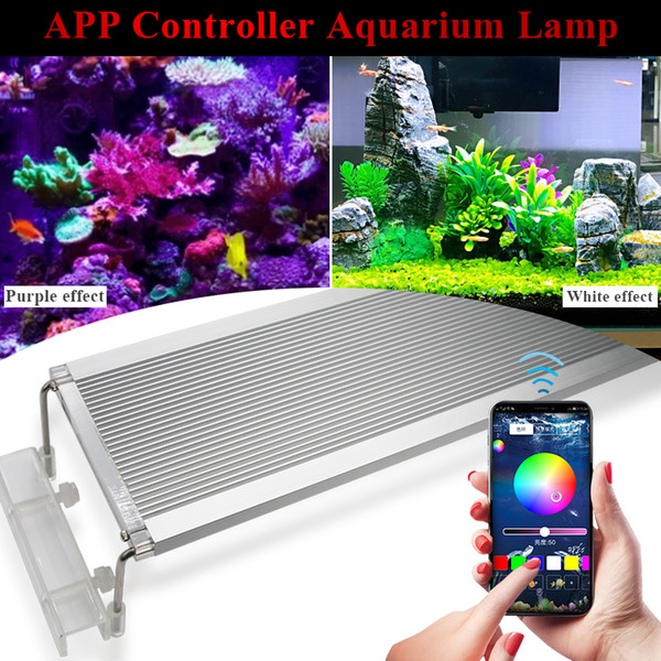 60CM 70CM 80CM RGB Leds Aquarium Led Lighting Lamp For Aquarium Led Light Marine Fish Tank Light RGB Lamp For Leds