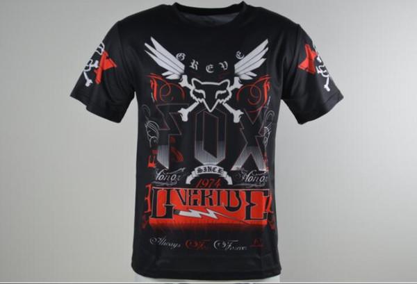 New FOX descente vêtements de moto KTM vélo maillot manches courtes hors route VTT d'été des hommes de chemise t-shirt