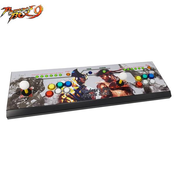 Le dernier contrôleur de jeu d'arcade à bascule design avec Box 9 de Pandora, jeu multiple de 1500, 1 jeu en 1