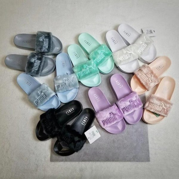 summer hotsale fashion fluffy slippers for girls excellent quality female style scuffs the same paragraph with stars size 35-40