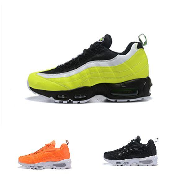 Acquista 2019 Vendita Calda 95 ERDL Party Goes Full Camo Green Orange Scarpe Da Corsa La Migliore Qualità 95s Mens Formatori Training Sneakers Taglia