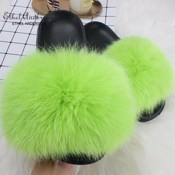 Apple Green Fox Kürk