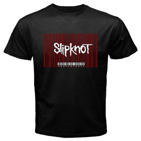 Summer T Shirt Brand Fitness Men'S Slipknot People Short Sleeve Printing Crew Neck Shirt
