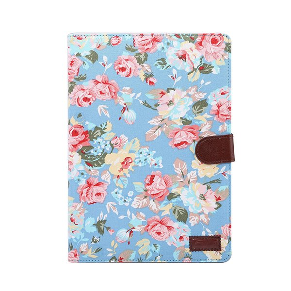 Flip Fabric Leather Case with Card Slot for iPad Pro 9.7 A1673 A1674 A1675 Tablet PC Smart Cover