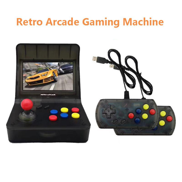 """2019 Games Support TF Card Expansion Gamepad Control AV Out 4.3"""" Screen"""