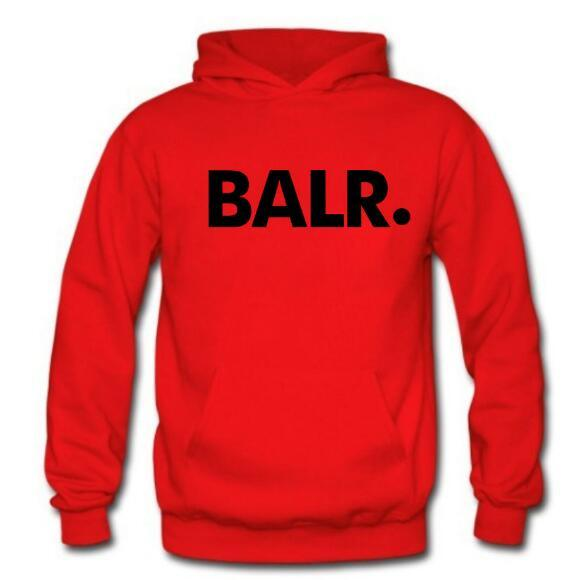Brand Fleece BALR Casual Unisex Hoodies Sweatshirt Cool Hip Pop Pullover Mens&women Sportwear Coat Jogger Tracksuit Fashion size S-3XL