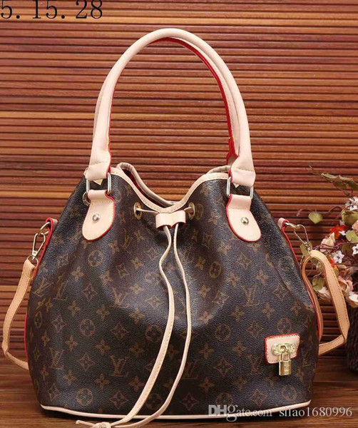 High quality Women PU leather handbag ladies designer handbag lady clutch purse retro shoulder bag A7