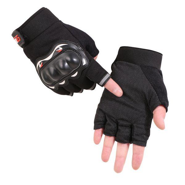 Guantes tácticos de medio dedo a la moda, fanáticos militares que luchan antideslizantes, anti-corte, fuerzas especiales, deportes al aire libre, guantes de equitación, envío gratuito