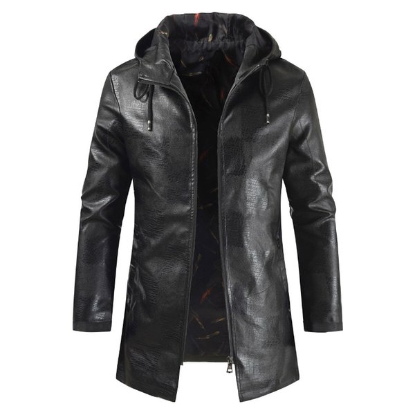 Mens Leather fashion old Jackets High Quality Classic Motorcycle Bike Jacket Male Thick 80s top Coats Brand Clothing plus 4XL