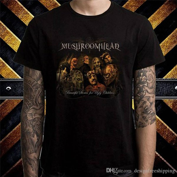 T-shirts à manches courtes 2018 à manches courtes à manches courtes pour hommes 2018 Mushroomhead
