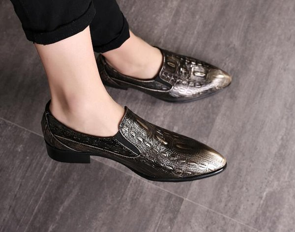 Men Dress Shoes Simple Style Quality Men Oxford Shoes Lace-up Brand Mens Formal Leather Wedding Shoes