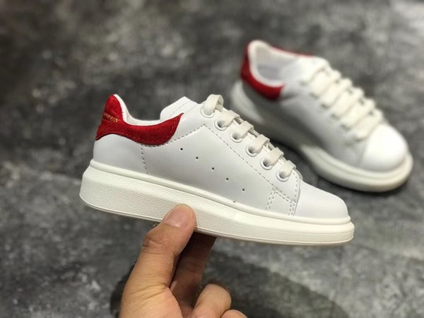 top popular Kids shoes Fashion boys girls Sneaker Flats Platform Loafers Trainers Designer Luxury chaussures enfants Girls Leather Casual Shoes boy 2019