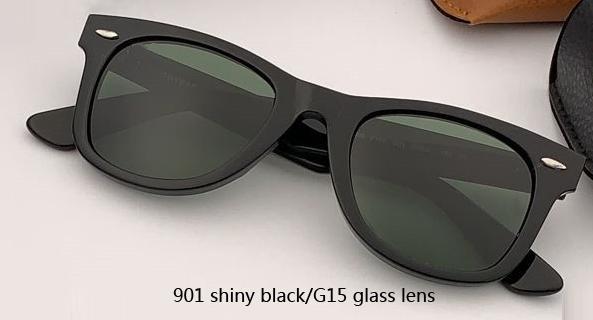 50mm 901 glänzende schwarze Linse / G15