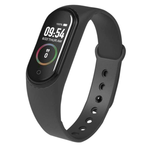 Pulsera de banda de ejercicios 4 Podómetro de rastreador de ejercicios Monitor de ritmo cardíaco pulsera inteligente a prueba de agua 4 para My Band Android IOSPK Mi Band 4 3