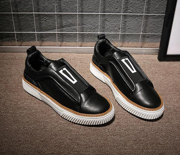 Diseñador estilo surcoreano de lujo de los hombres de los holgazanes ocasionales ClassicTassel Party Leather Shoes Plus Size 38-44 Men Flats Driving Shoes g4.103