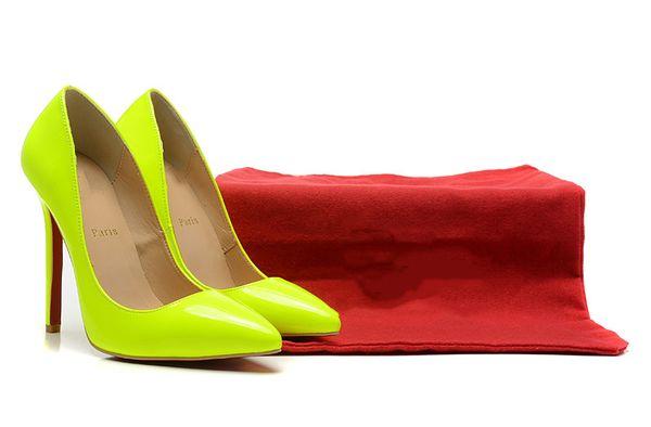2019 female designer retro temperament sweet luxury fashion simple candy color patent leather single shoes wild temperament fashion shoes