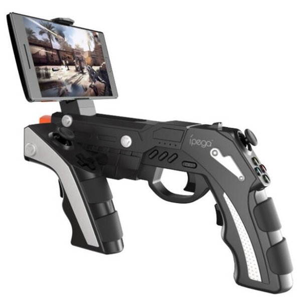 Ipega pg-9057 PG 9057 wireless Bluetooth game controller gun design style game label board button Pubg