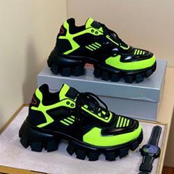 Moda erkek ayakkabı tasarımcısı Cloudbust Thunder erkekler basketbol platformu üçlü Sneaker bağbozumu Casual erkek Ayakkabı Açık Trainers100647 çorap