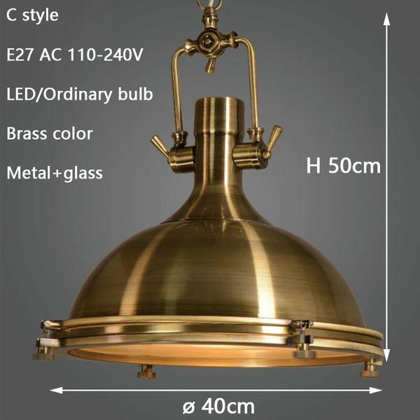 Brass C