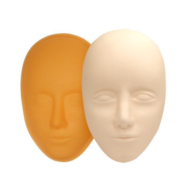 Maquiagem cabeça Practice Olhos Fechados Mannequin Head Massage pestana Prática de Extensão Modelo Chapéu Cabelos Óculos de exibição Perucas Showcase
