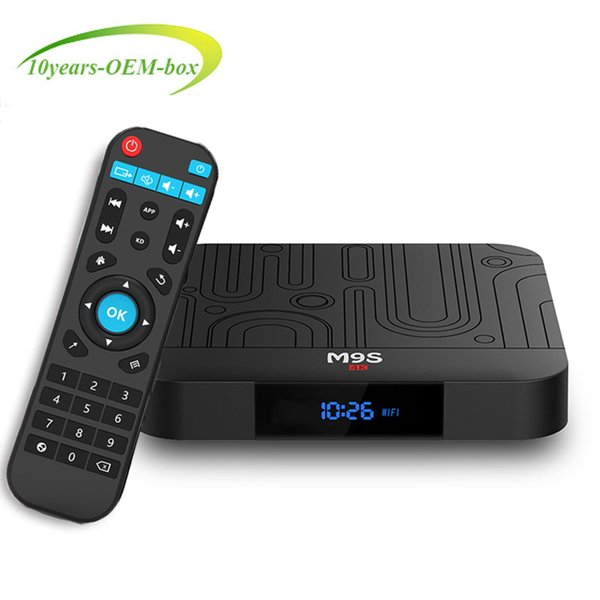 2019 New Hot Best M9S W1 TV BOX 2GB 16GB Quad Core Amlogic S905W Smart Box Android 7.1 TV Streaming Boxes 4K Media Playe Better TX3 X96 H96